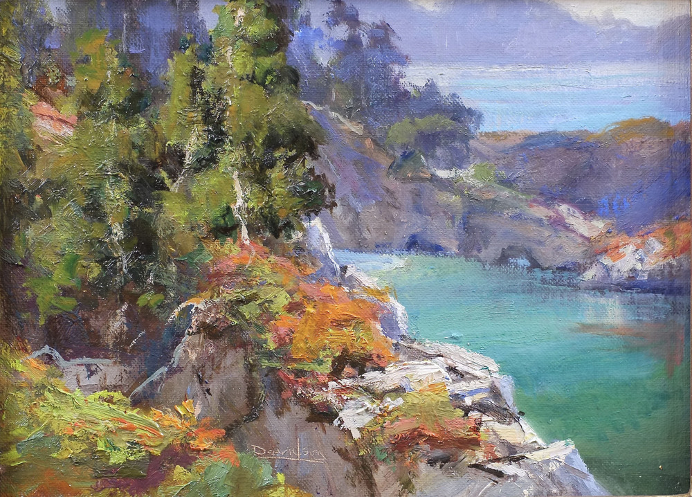 Bill Davidson - China Cove Beach border=