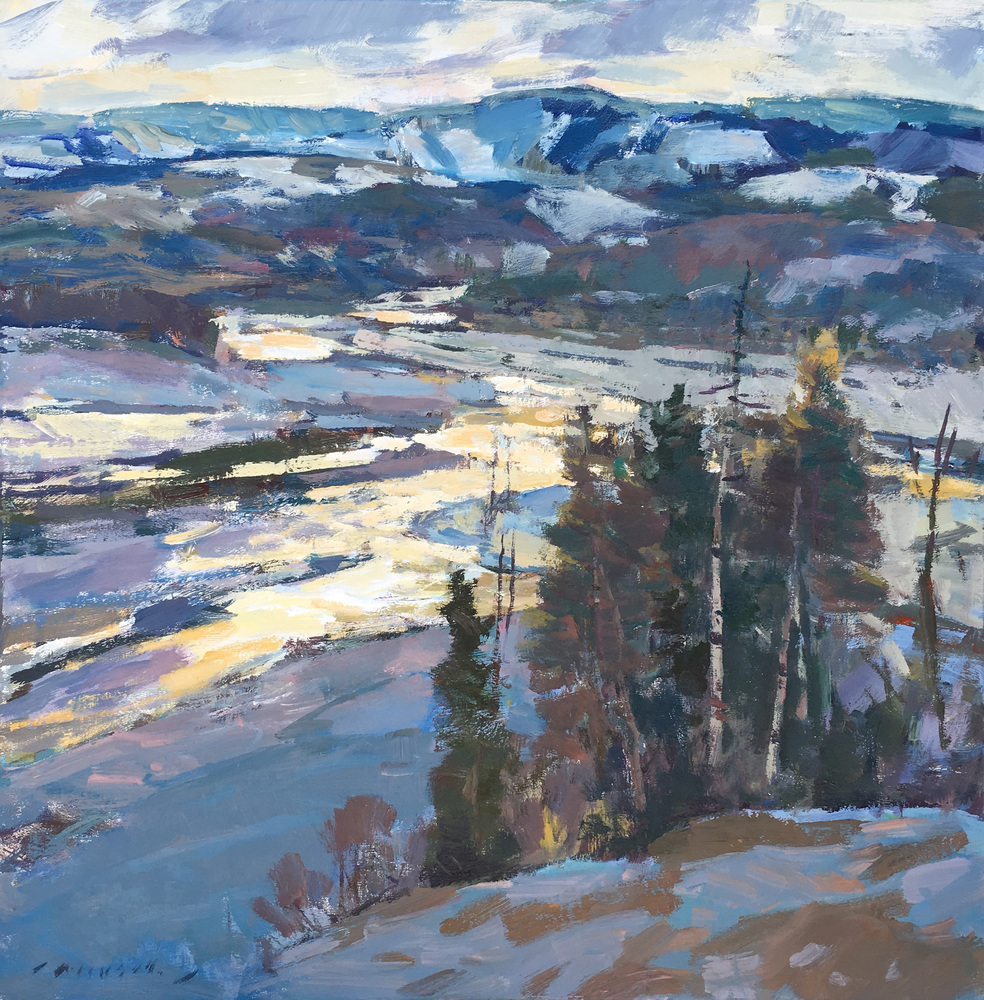 Charles Movalli - Colorado Sunset border=
