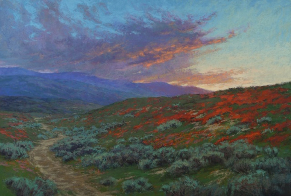 Kim Lordier - California Poppies at Rest border=