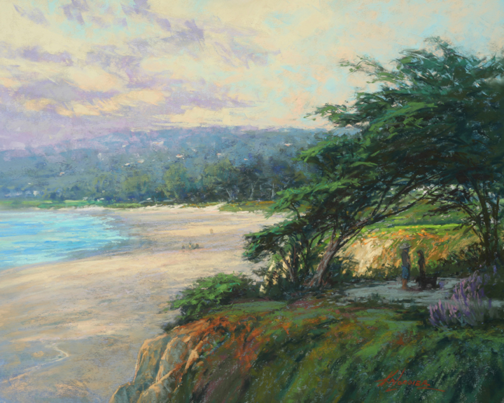 Kim Lordier - Carmel Beach Stroll border=