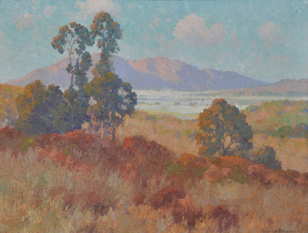 Maurice Braun - Southern California Valley in Summer border=