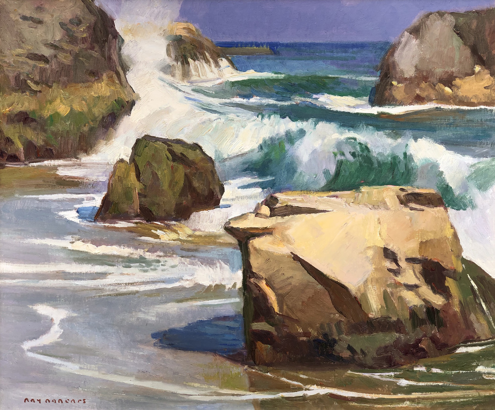Ray Roberts - Crashing Waves border=