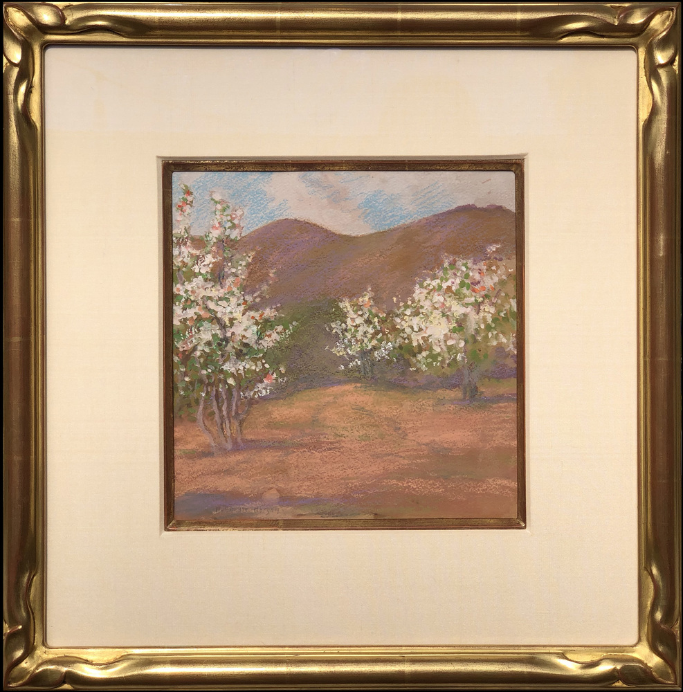 Mary DeNeale Morgan - Apple Trees, Carmel Valley