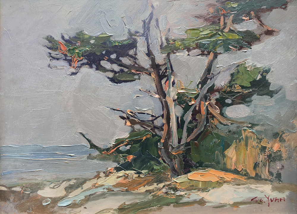 Cypress | S  C  Yuan | James J  Rieser Fine Art