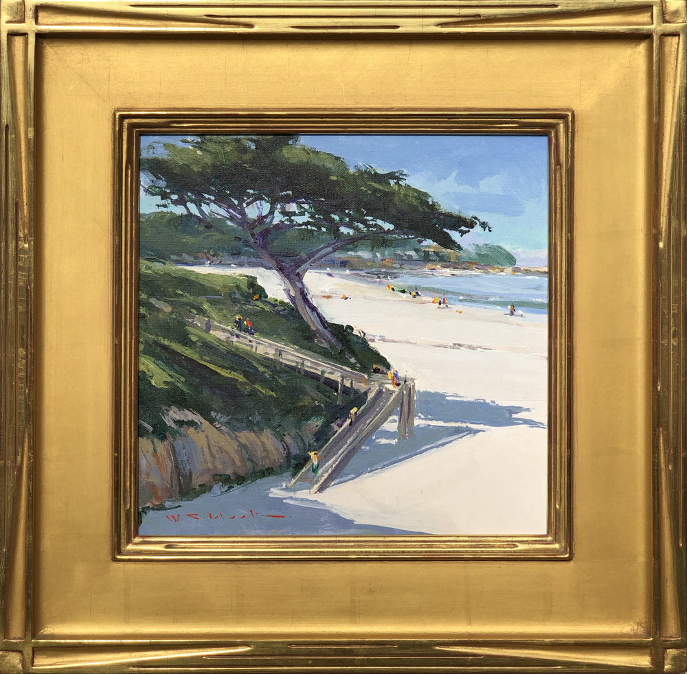 William C. Hook - Beach Stair, Carmel #4040