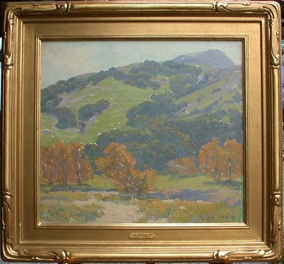Title: California Autumn , Date: c. 1919 , Size: 18 x 20 , Medium: Oil on Canvas