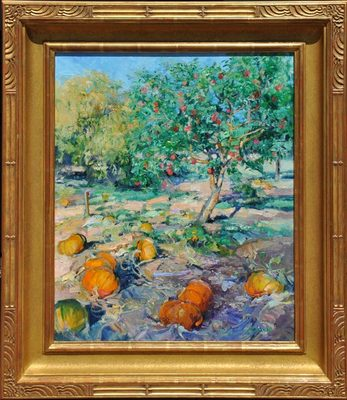 Jane Goode - Autumn Harvest - Oil on Linen - 24 x 20