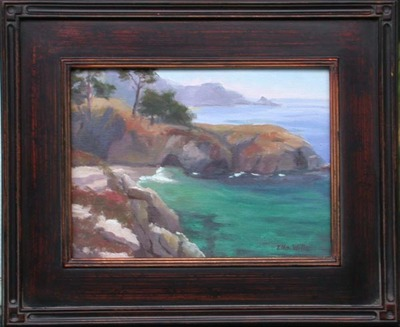 Title: China Cove , Date: 2008 , Size: 9 x 12 , Medium: Oil on Canvas/Board